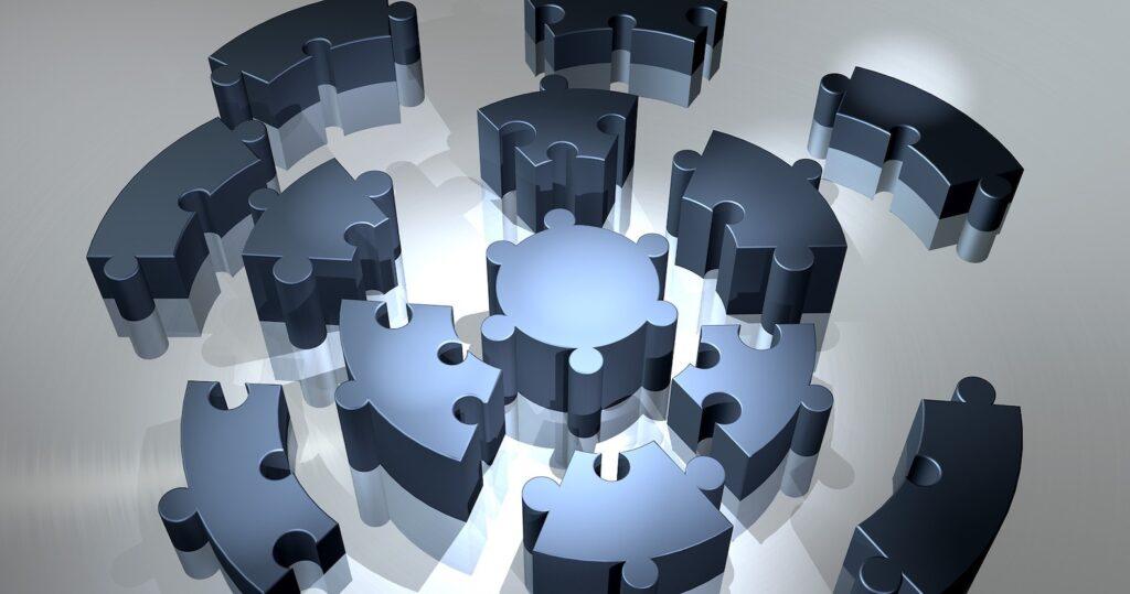 image representing compatibility for build vs. buy software debate